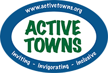 active towns logo website